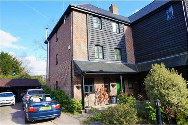 4 Bedrooms Semi Detached House for sale in Mill Place, Micheldever Station, Winchester, Hampshire