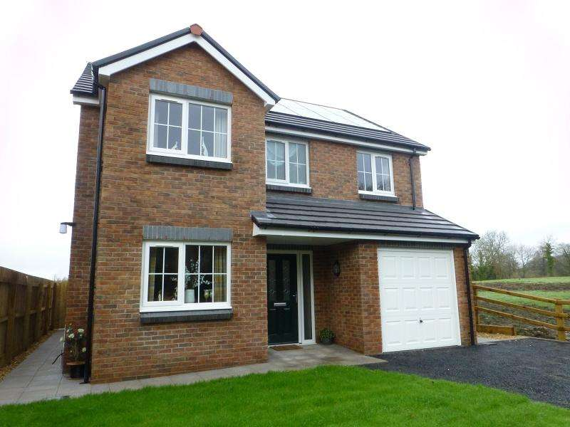 4 Bedrooms Detached House for sale in Parc Nant Y Ffin, Colonel Road, Betws, Ammanford, Carmarthenshire.