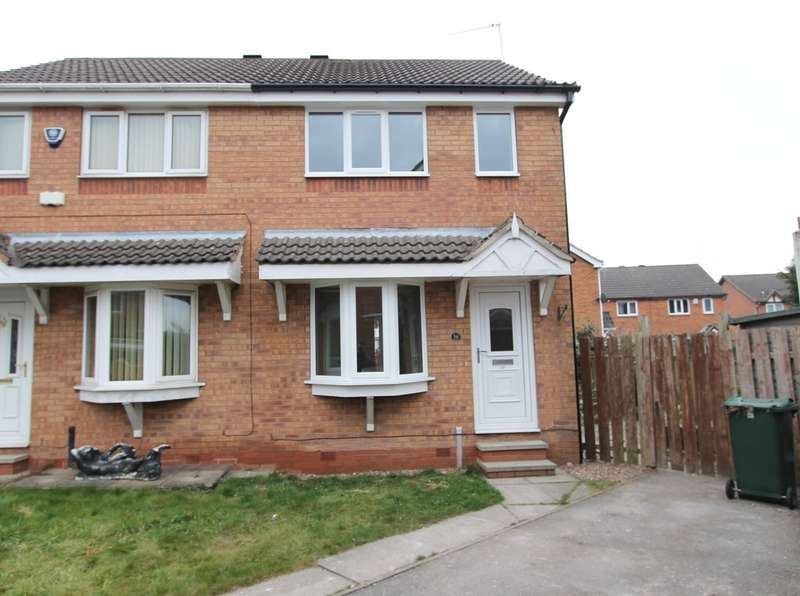 2 Bedrooms Semi Detached House for rent in Stoney Bank Drive, Kiveton Park, Sheffield, S26 6SJ