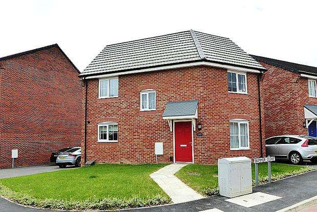 3 Bedrooms Detached House for sale in Skimmer Close, Dragonfly Meadows, Northampton, NN4