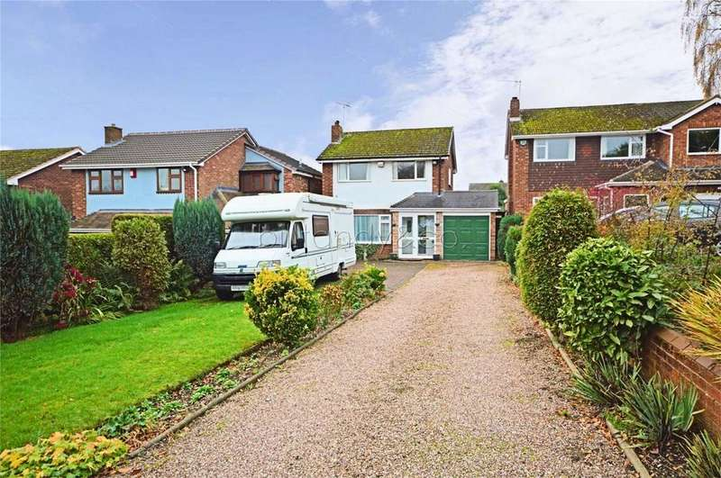 3 Bedrooms Detached House for sale in Ogley Hay Road, Chase Terrace, BURNTWOOD, Staffordshire