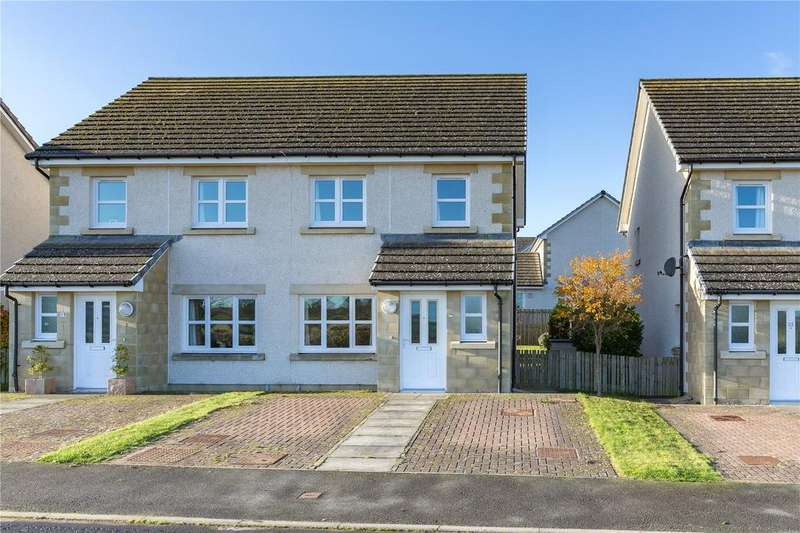 3 Bedrooms Semi Detached House for sale in Polwarth Avenue, St Boswells, Melrose, Scottish Borders