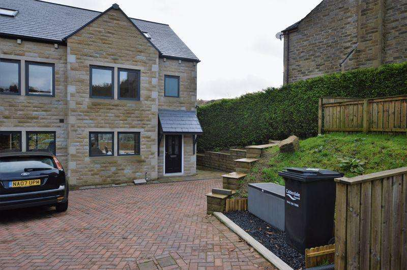 3 Bedrooms Semi Detached House for sale in Winterbutlee Grove, Todmorden