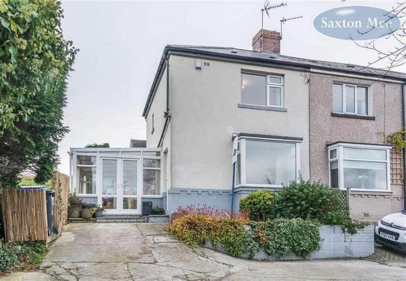 2 Bedrooms Semi Detached House for sale in Newton Avenue, Stocksbridge, Sheffield, S36
