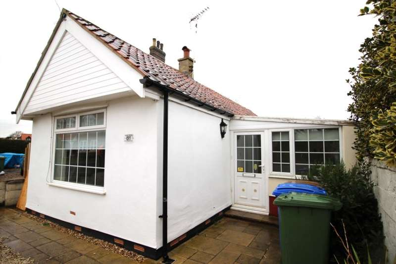 2 Bedrooms Detached Bungalow for sale in Station Road, Nafferton, Driffield, YO25