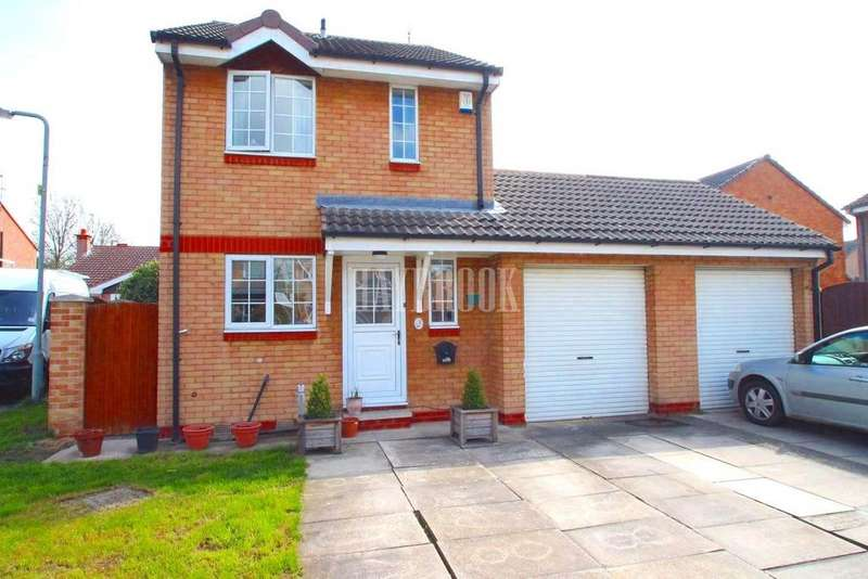 3 Bedrooms Detached House for sale in Holme Court, Goldthorpe