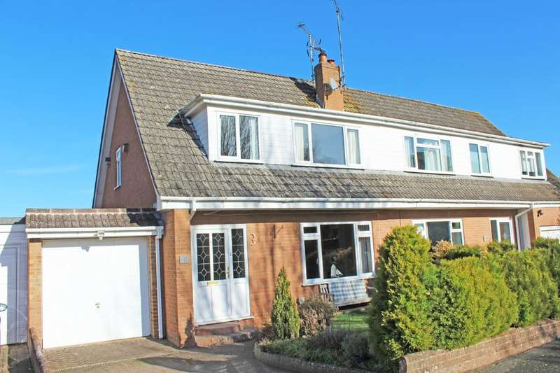 3 Bedrooms Semi Detached House for sale in Little Down Orchard, Newton Poppleford, Sidmouth, EX10