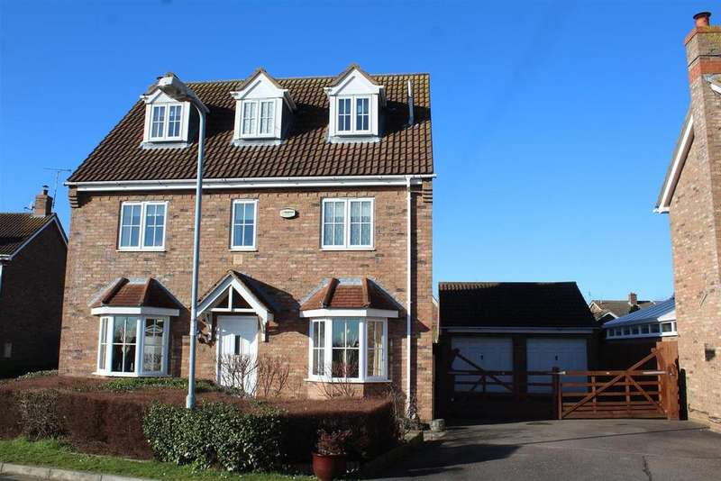 5 Bedrooms Detached House for sale in Pershore Way, Eye, Peterborough