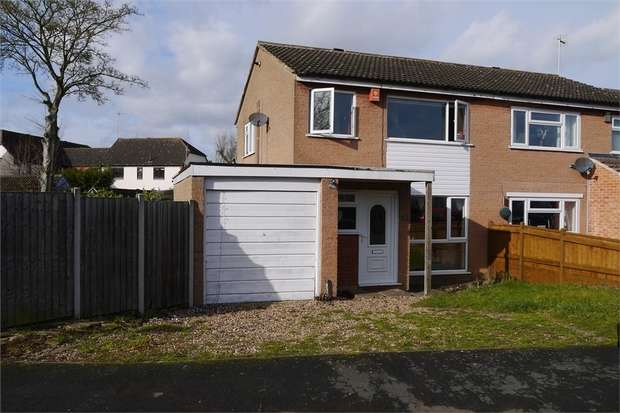 3 Bedrooms Semi Detached House for sale in Lovelace Way, Fleckney, Leicester