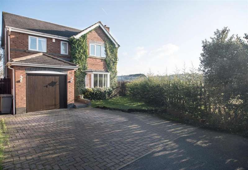 4 Bedrooms Detached House for sale in 55 Wentworth Avenue, Emley, Huddersfield, HD8 9XR