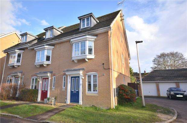 3 Bedrooms End Of Terrace House for sale in Hollerith Rise, Bracknell, Berkshire
