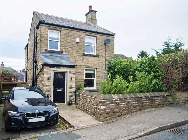 3 Bedrooms Detached House for sale in Huddersfield Road, Shelley, Huddersfield, HD8 8HE