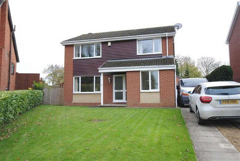 4 Bedrooms Detached House for sale in Oxford Drive, Kippax, Leeds, LS25