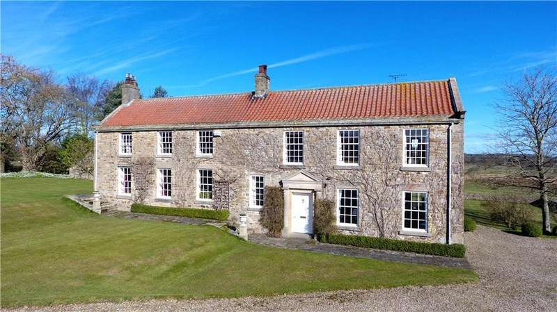 5 Bedrooms Detached House for sale in Wycliffe, Barnard Castle, Durham, DL12