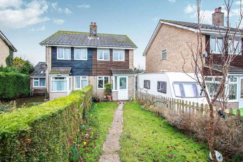 2 Bedrooms Semi Detached House for sale in Wern Gifford, Pandy, Abergavenny, NP7