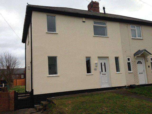 3 Bedrooms Semi Detached House for sale in Kingston Avenue, Bearpark, DH7