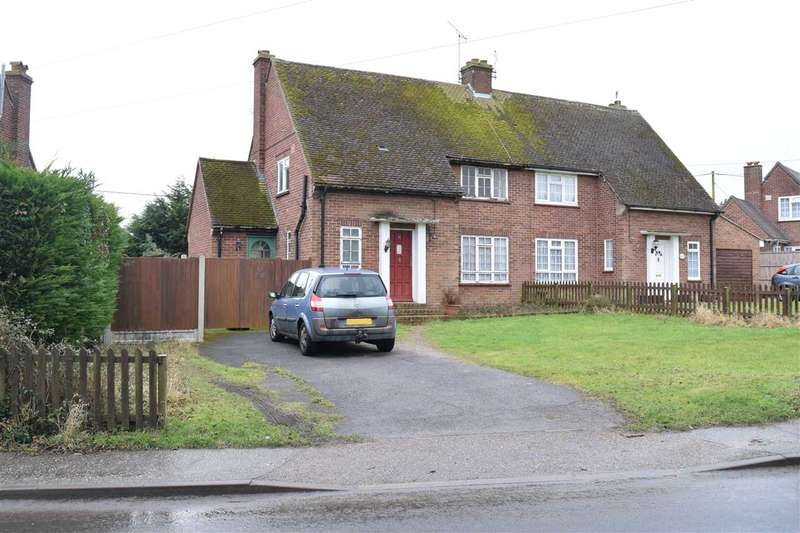 3 Bedrooms Semi Detached House for sale in Boreham Road, Great Leighs, Chelmsford