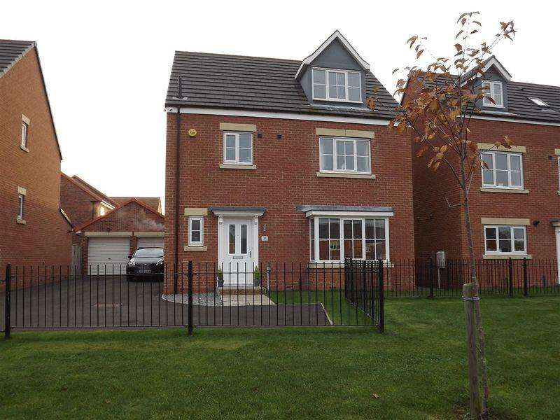 4 Bedrooms Detached House for sale in Lambley Crescent, SeatonDelaval