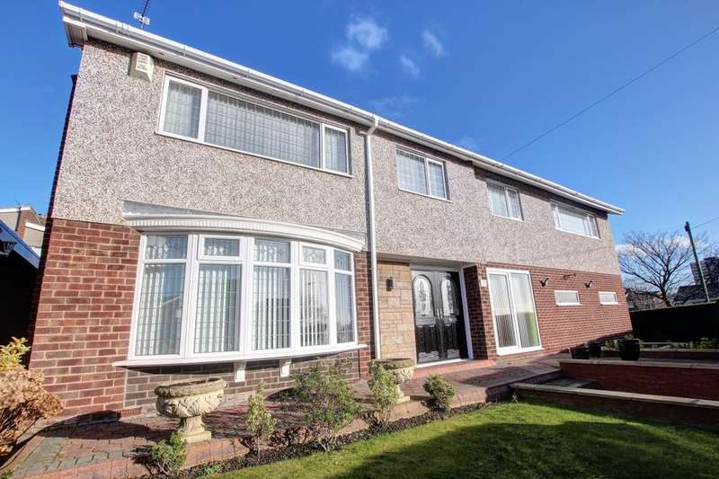 5 Bedrooms Detached House for sale in Portland Gardens, Low Fell, Gateshead, NE9