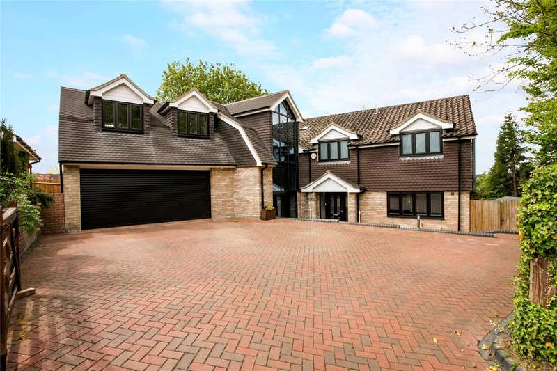 5 Bedrooms Detached House for sale in Quennells Hill, Wrecclesham, Farnham, Surrey, GU10