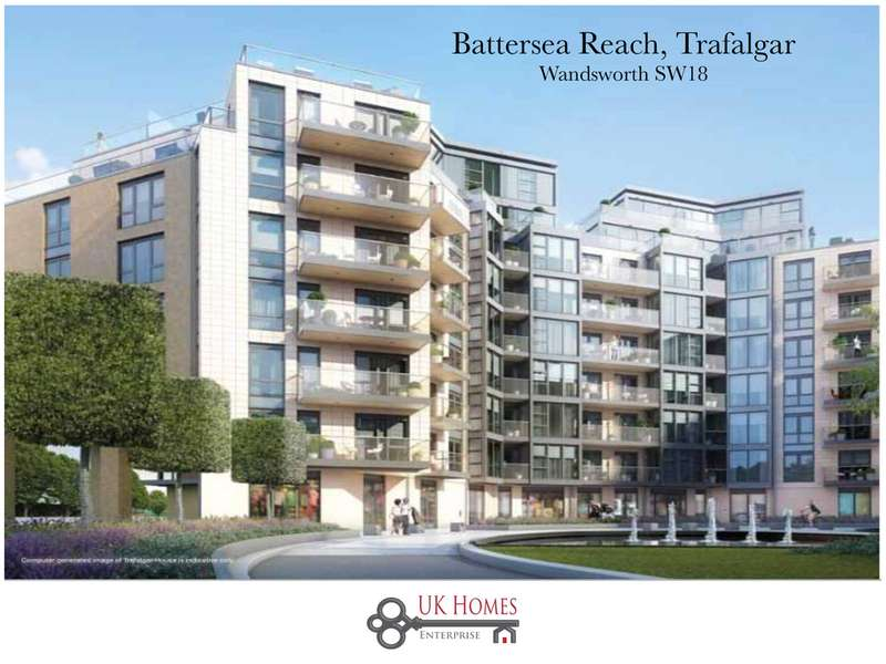 2 Bedrooms Flat for sale in Battersea Reach, Trafalgar, Wandsworth
