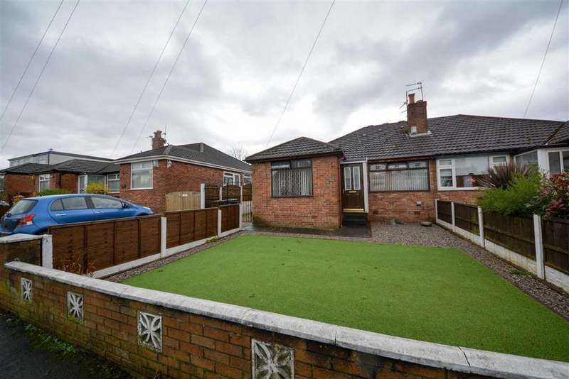 3 Bedrooms Semi Detached Bungalow for sale in Camberwell Crescent, Whelley, Wigan, WN2