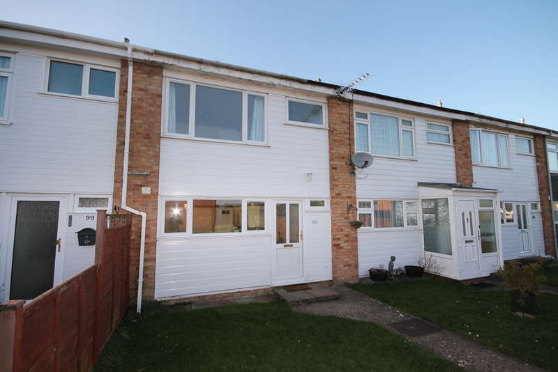 3 Bedrooms Terraced House for sale in Chapel Field, Great Barford, MK44