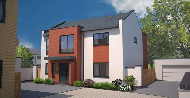 4 Bedrooms Detached House for sale in Plot 47 - The Brodsworth, The Chasse, Exeter Road, Topsham, EX3