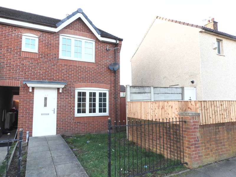 3 Bedrooms End Of Terrace House for sale in Overton Close, Liverpool