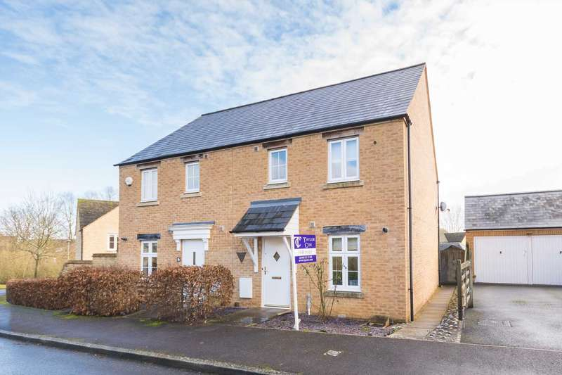 3 Bedrooms Semi Detached House for sale in Stenter Square, Witney