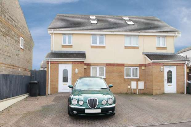 3 Bedrooms Semi Detached House for sale in Mason Street, Aberdare, Mid Glamorgan, CF44 6SU