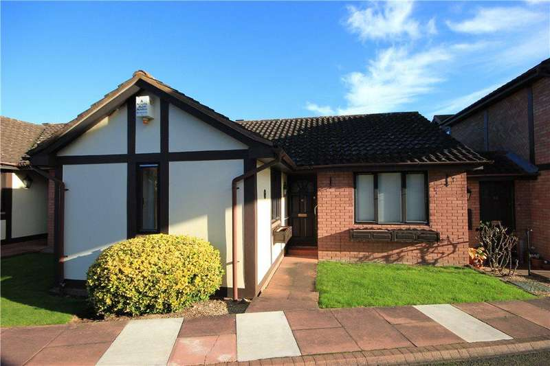 2 Bedrooms Terraced Bungalow for sale in Brook Farm Court, Belmont, Hereford, HR2
