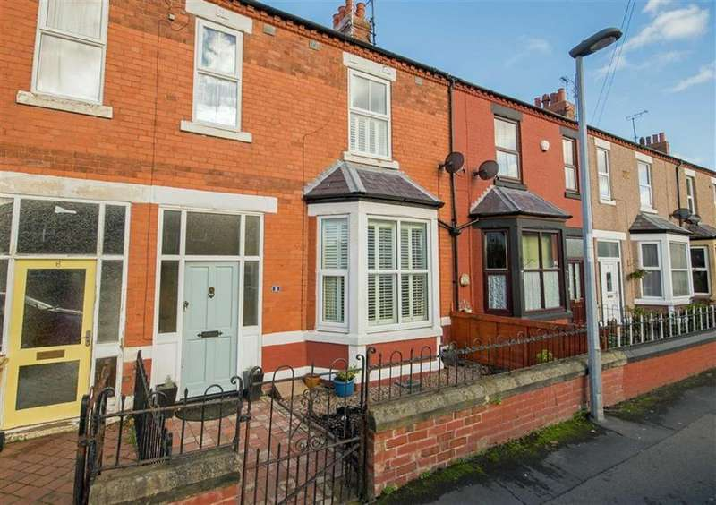 3 Bedrooms Terraced House for sale in West View, Mold