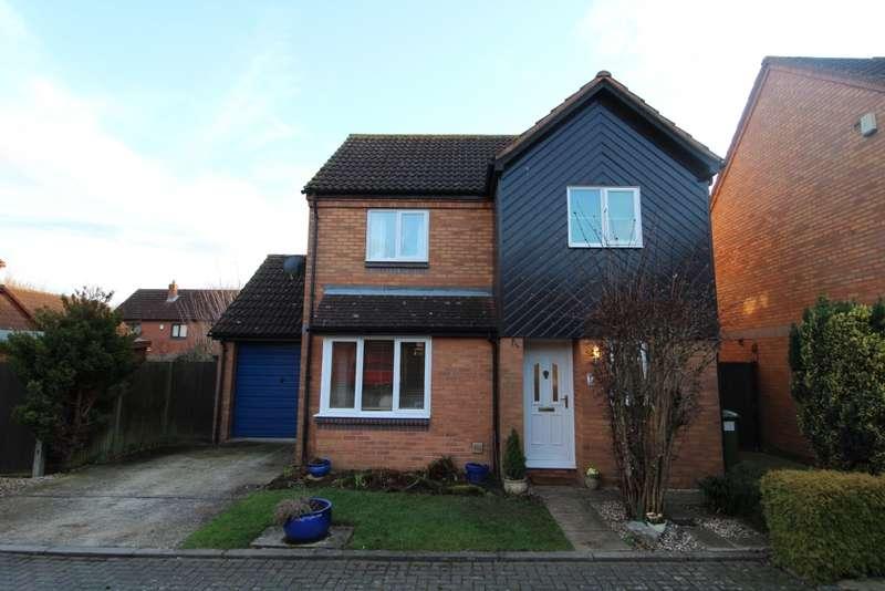 3 Bedrooms Detached House for sale in Hargreaves Nook, Blakelands, Milton Keynes, Buckinghamshire