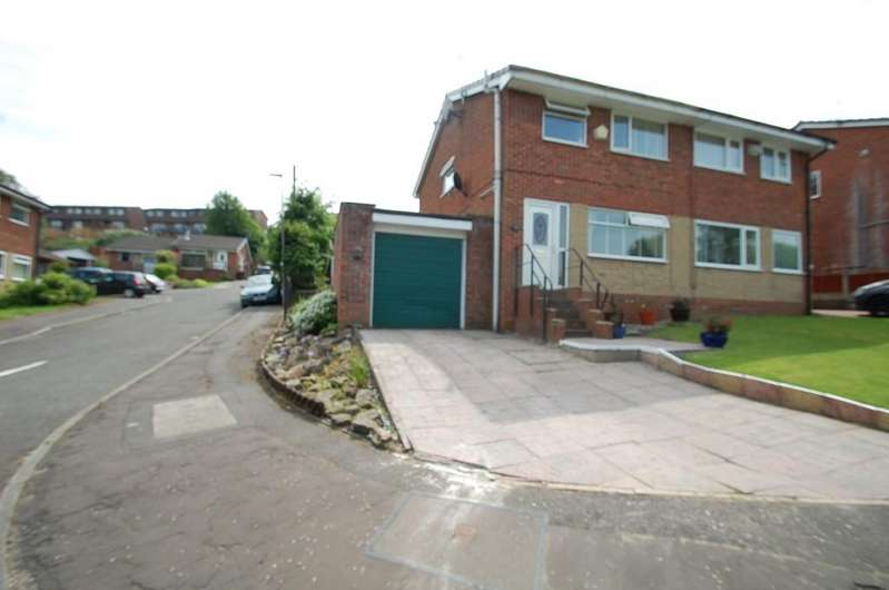 3 Bedrooms Semi Detached House for sale in Rosewood Avenue, Roe Lee, Blackburn