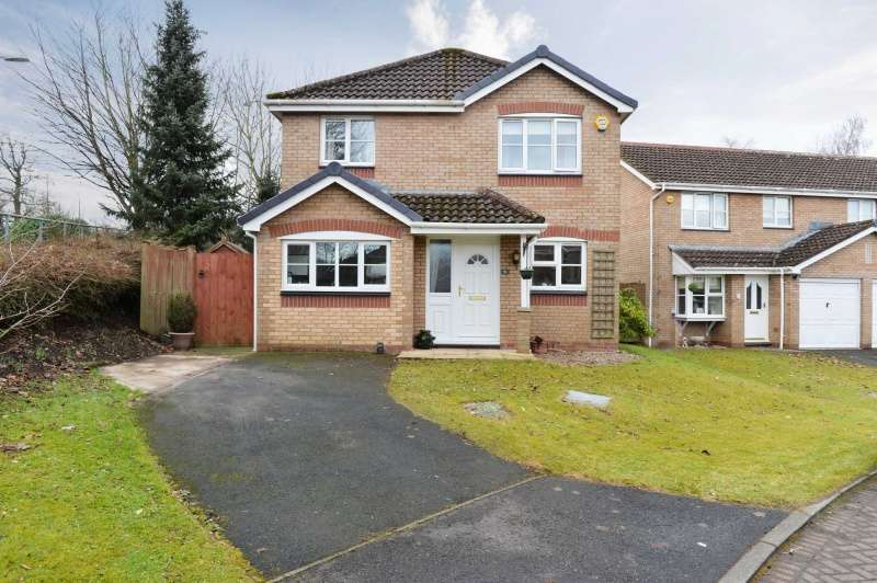 3 Bedrooms Detached Villa House for sale in Kaims Gardens, Livingston, West Lothian, EH54 7DY