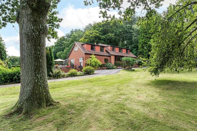 4 Bedrooms Detached House for sale in Tatchbury Lane, Winsor, Southampton, Hampshire, SO40