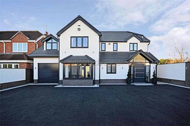 4 Bedrooms Detached House for sale in Lock Keepers Close, Norton Canes, CANNOCK, Staffordshire