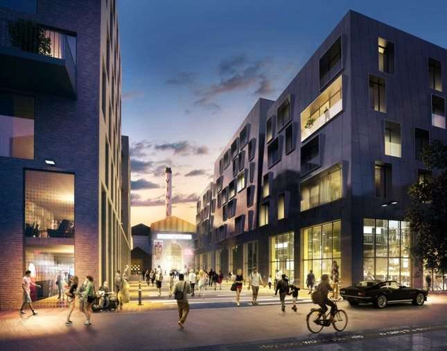 Apartment Flat for sale in The Boiler House, The Old Vinyl Factory, Blyth Road, Hayes, UB3