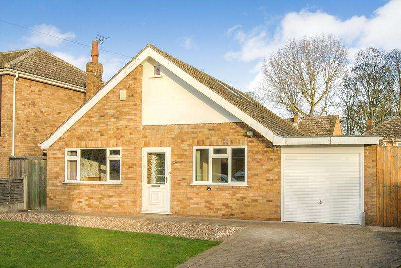 4 Bedrooms Detached Bungalow for sale in Arnhem Drive, Caythorpe