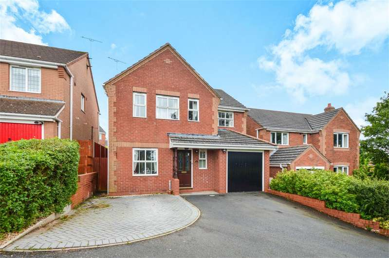 4 Bedrooms Detached House for sale in 36 Larks Rise, Cleobury Mortimer, Kidderminster, Shropshire, DY14