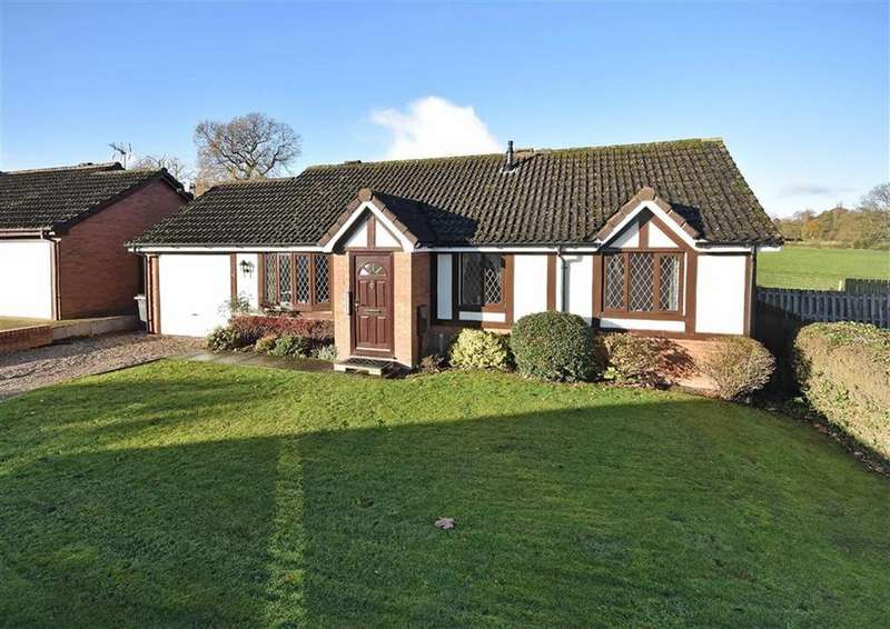 2 Bedrooms Detached Bungalow for sale in 16, Fairfield, High Town, Bridgnorth, Shropshire, WV16