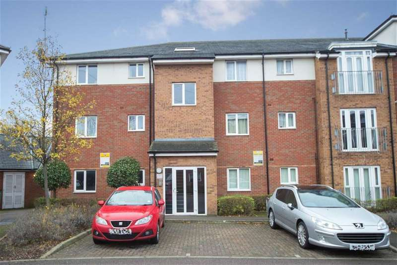 2 Bedrooms Flat for sale in Stokers Close, Dunstable, Bedfordshire, LU5