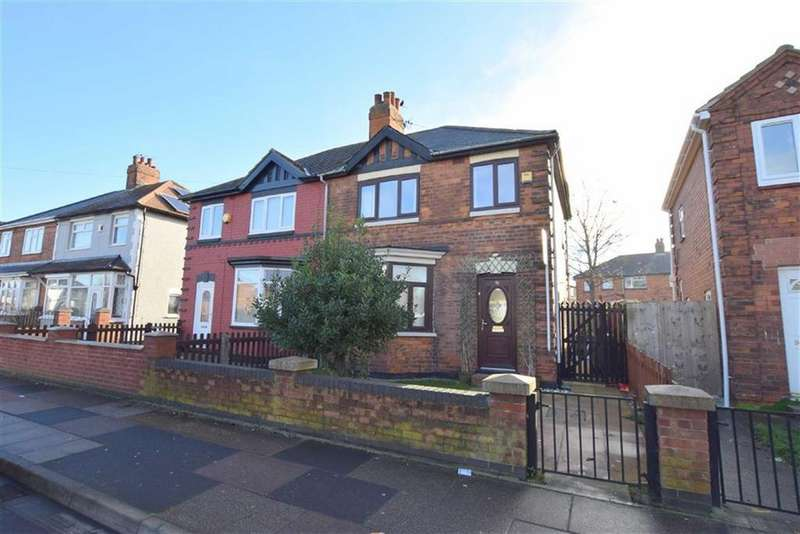 3 Bedrooms Semi Detached House for sale in Sutcliffe Avenue, Grimsby, North East Lincolnshire