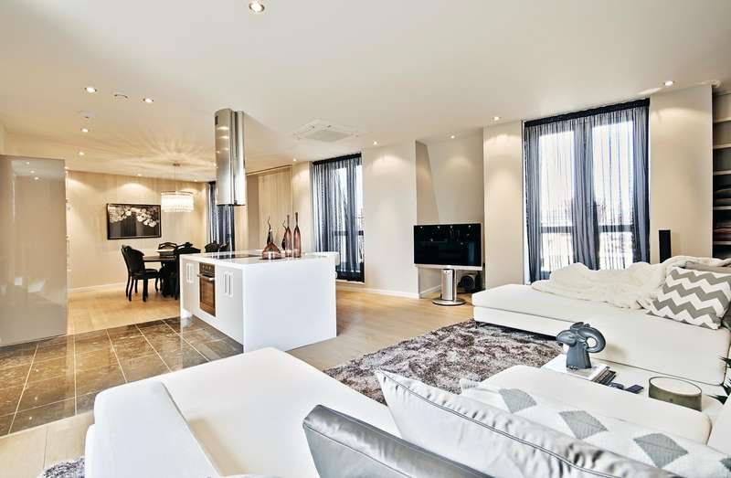 2 Bedrooms Penthouse Flat for rent in 1 Palace Place, St James' Park, London SW1E