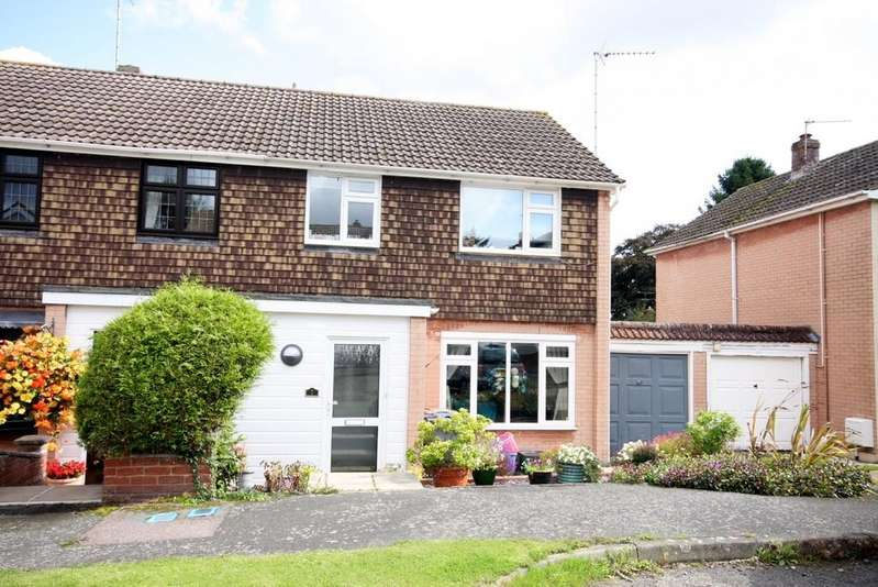 3 Bedrooms Semi Detached House for sale in Vicarage Close, Standon