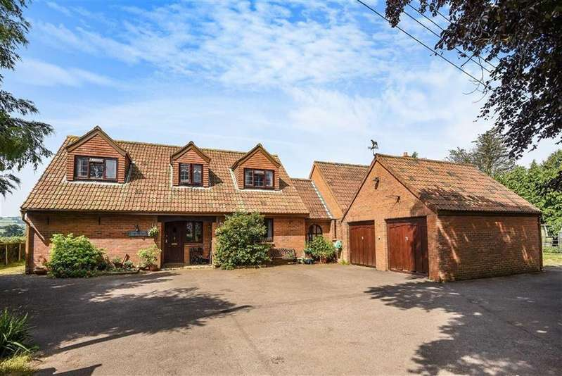 5 Bedrooms Detached House for sale in Barford Close, Spaxton, Spaxton Bridgwater, Somerset, TA5