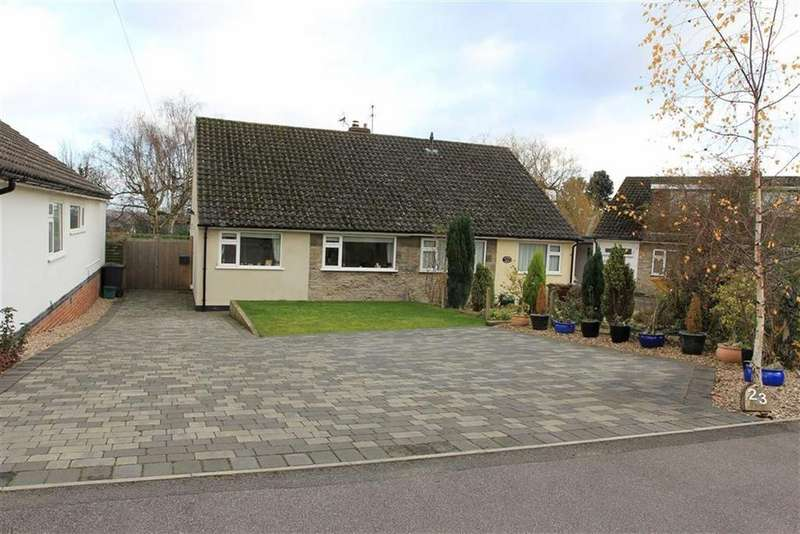 2 Bedrooms Bungalow for sale in Windmill Rise, Woodhouse Eaves, Leicestershire