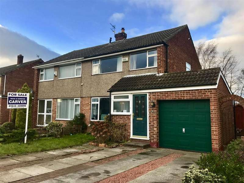 3 Bedrooms Semi Detached House for sale in Meadowfield Drive, Eaglescliffe