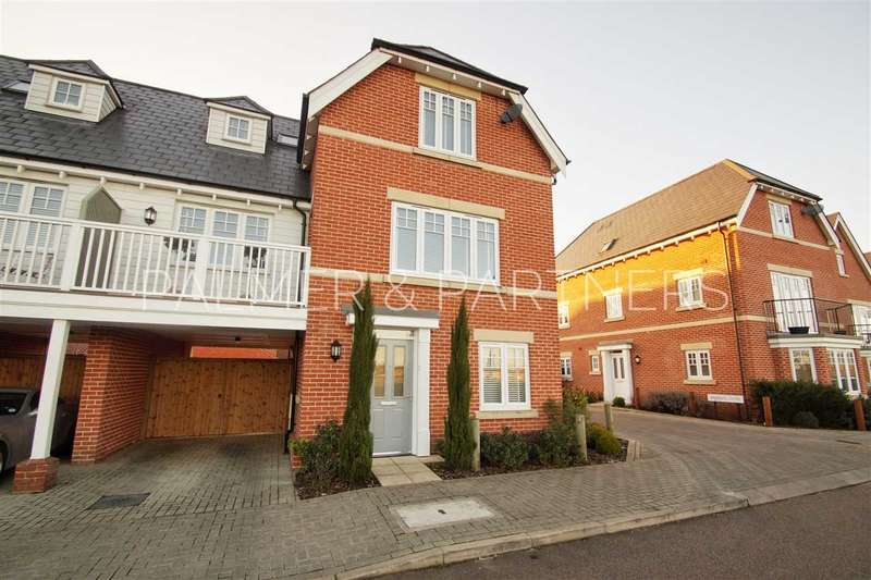 4 Bedrooms Town House for sale in Braeburn Road, Great Horkesley, Colchester